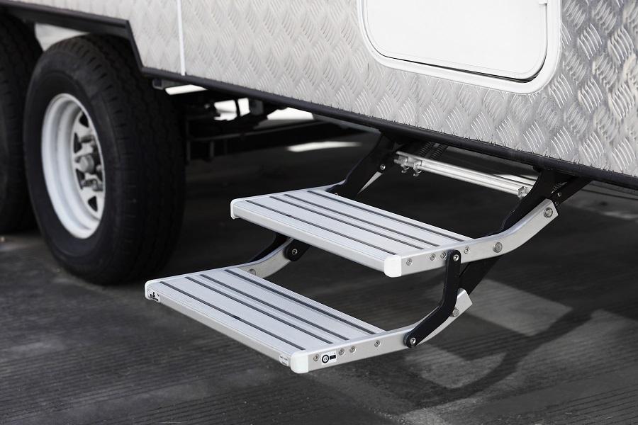 Double Manual Step on Van